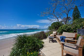 Stayz beachfront property in Byron Bay