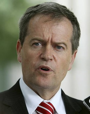 MP Bill Shorten: 'More Australians are in full-time work than ever before.'