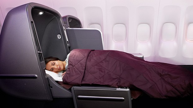 Qantas is rolling out a new 'sleep service' with quilted duvets.