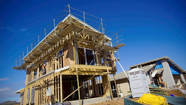 Housing construction is declining in the ACT.