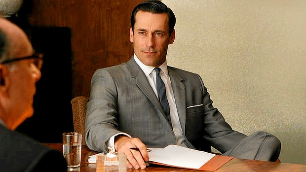 Coiffed and cool, Don Draper is a fine ambassador of the style.