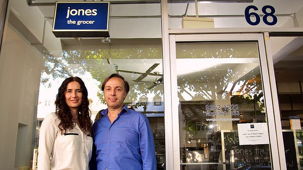 John Manos and co-director Esther Iachelini.