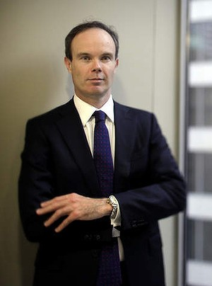 Hamish Douglass is CEO of Magellan Financial Group in Sydney. 23/12/11.