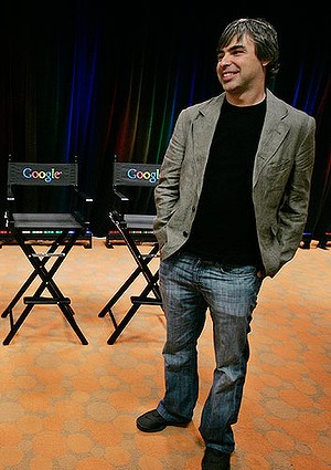 Google co-founder Larry Page: