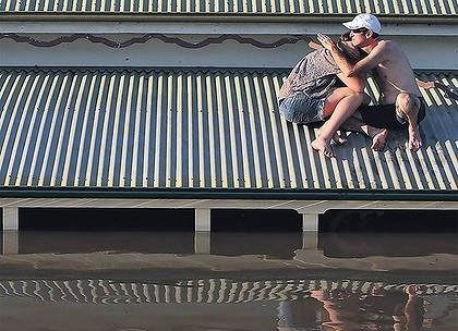 Roy Morgan research out this week shows only 38 per cent of Australian businesses have property insurance, but just 34 per cent in Queensland.
