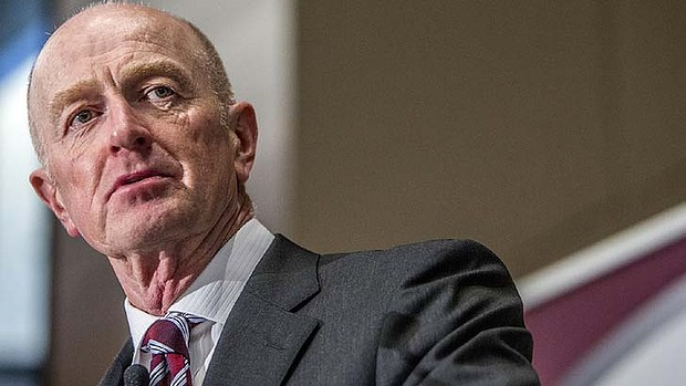 Facing challenges in his final term: Reserve Bank Governor Glenn Stevens.